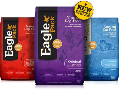 eagle pac dog and cat food photo