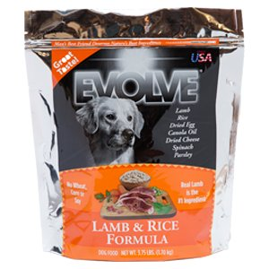 Evolve dry dog food