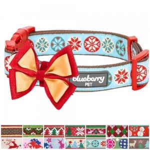 Blueberry-Pet-14-Patterns-Christmas-Holiday-Season-Dog-Collar