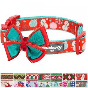 Blueberry-Pet-14-Patterns-Christmas-Holiday-Season-Dog-Collars