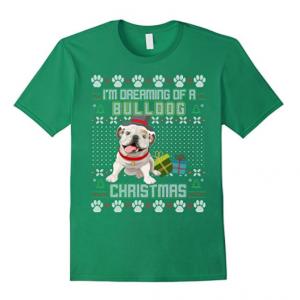 Bulldog-Christmas-Sweater-Tshirt