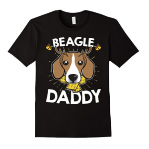 Beagle-Daddy-Dog-Matching-Family-Christmas-T-Shirt
