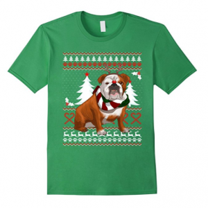 Cute-English-Bulldog-Christmas-Shirt