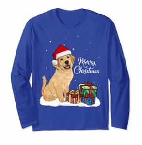 Cute-Golden-Retriever-Merry-Christmas-Dog-Lovers-T-Shirts