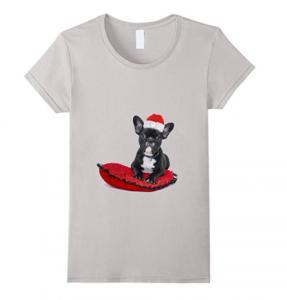 French-Bulldog-Christmas-T-shirt