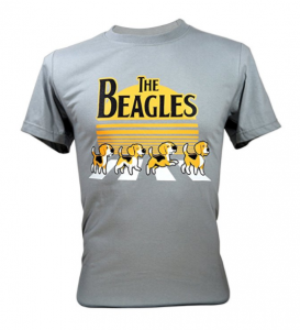 Immortal-Tee-Adult-Unisex-The-Beatles-Beagles-Funny-T-Shirts