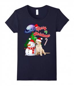 Labrador-Retriever-Christmas-T-Shirt