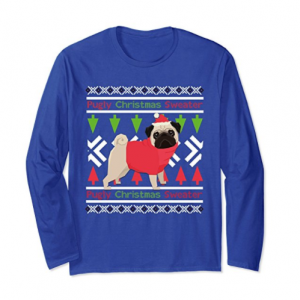 Pugly Christmas Sweater T Shirt
