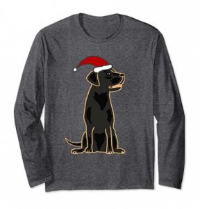 SmileLSXMAS-Cute-Black-Labrador-Retriever-Christmas-Shirt